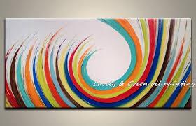 <b>100</b>% <b>Hand Painted High Quality</b> Modern Wall Art Picture Home ...