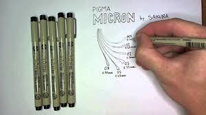 <b>Pen</b> Review: <b>Pigma Micron</b> - YouTube