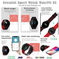 <b>Smart Watch</b> WearFit <b>B2</b> Health O2 Bracelet blood pressure App ...