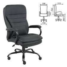 "<b>Кресло офисное BRABIX</b> ""<b>Heavy</b> Duty HD-001"", усиленная ..."