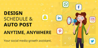 Приложения в Google Play – <b>Social Media</b> Post Maker, Planner ...