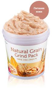 Питательная зерновая маска-<b>скраб для лица</b> Ottie <b>Natural</b> Grain ...