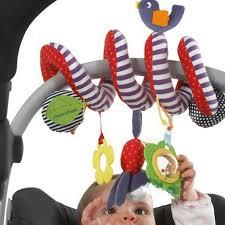 <b>Baby</b> Rattles <b>Plush Animal Stroller</b> Hanging Bell Bed Play <b>Toy</b> ...