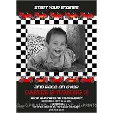 race car photo printable invitation dimple prints shop race car photo printable invitation