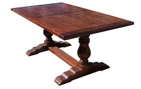 Trestle Dining Room Sets Mortise Amp Tenon Spanish Trestle Dinning Table Dining Tables Room