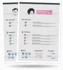1 minimalist sample modern resume