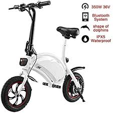 shaofu Folding Electric Bike– 350W 36V Electric ... - Amazon.com