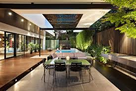 alfresco living dining view in gallery indoor outdoor house design with alfresco terrace livi