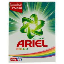 <b>Порошок стиральный</b> `ARIEL` Color (<b>автомат</b>) <b>450</b> г купить в ...