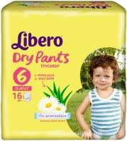 <b>Libero Dry</b> Pants 6 / 16 pcs – купить <b>подгузники</b>-<b>трусики</b> ...
