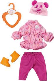 Набор теплой <b>одежды для куклы Zapf</b> Creation My Little Baby Born ...