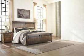 The Lakeleigh Brown <b>4 Pc</b>. Queen Panel Bed & <b>Nightstand</b> ...