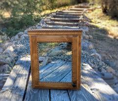 Rustic Wood Medicine Cabinet Medicine Cabinet Etsy