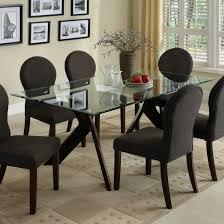 dining room chairs canada glass