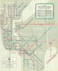 the mostly true story of helvetica and the new york city subway his subway map design
