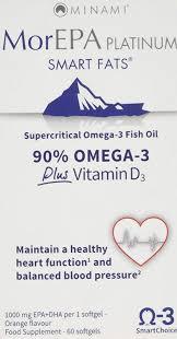 MorEPA <b>Platinum</b> Highest <b>Omega 3</b> with Vitamin D 1100mg (Orange ...