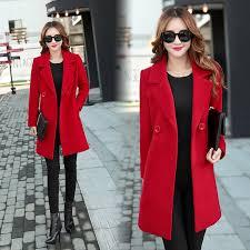 <b>YICIYA Autumn Winter jacket</b> women overcoat wool coat suits plus ...