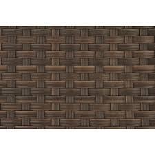 teak patio dining armchair brown textile
