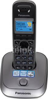 Купить <b>Радиотелефон PANASONIC KX</b>-TG2511RUM, серый ...