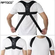 Aptoco <b>Adjustable Back Posture Corrector</b> Clavicle Spine Back ...