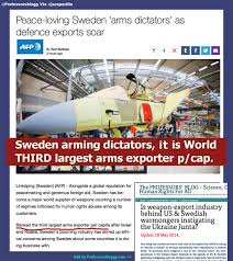 is weapon export industry behind us carl bildt s sweden foreign is weapon export industry behind us carl bildt s sweden foreign offices instigating war in ukraine the professors blog science culture human