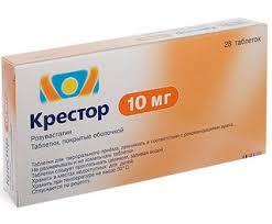 Лекарственный препарат <b>Крестор</b> 10 <b>мг 28</b> тб в Москве   Купить ...