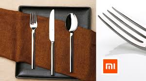<b>Xiaomi Mijia Huohou</b> Dinnerware Creative Fork Knife Spoon ...