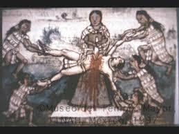 Resultado de imagen de sacrificios aztecas