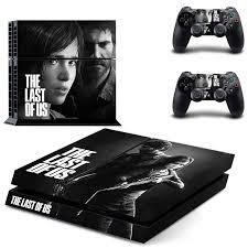 <b>The</b> last of us <b>Skin Vinyl Skins</b> Sticker for Sony PS4 PlayStation 4 ...