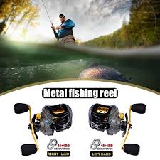 Spinning Fish Reel With Line Left Right Hand <b>Water Drop Magnetic</b> ...