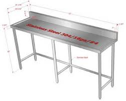 stainless kitchen work table: stainless steel kitchen work tables work table stainless steel kitchen work tables