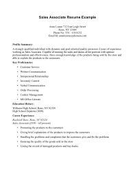 click here to view this resume s associates resume sample resume sle resume for retail s example resume for retail