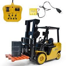 Big Size 1:8 <b>11Ch Rc</b> Forklift Truck Crane Rtr Engineer <b>Vehicle</b> Toys ...