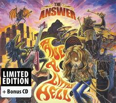 The <b>Answer</b> - <b>Raise</b> A Little Hell (2015, CD) | Discogs