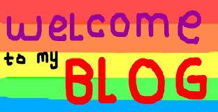 Výsledek obrázku pro welcome to my blog