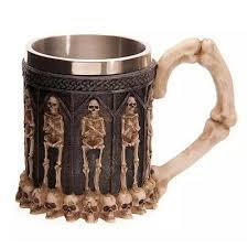 <b>Personality</b> Creative <b>Coffee</b> Mug Resin Striking Warrior Tankard ...