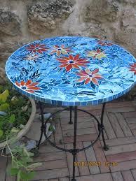 אוהבת טורקיז-שולחן פסיפס זכוכית-נמכר! | <b>Mosaic</b> outdoor table, <b>Mosaic</b> ...