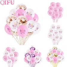 <b>QIFU Happy Birthday Balloons</b> Unicorn Balloons Set Unicorn ...