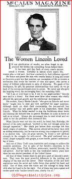 important women in the life of abraham lincoln early life and the women lincoln loved mccall s magazine 1920