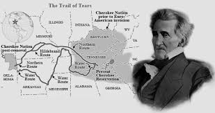 in fighting andrew jackson new englander rewrote the rules of president andrew jackson and the trail of tears the path the cherokee followed from their