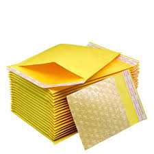 【Murah】Yellow Double Layer Bubble Envelope Wrap Anti-collision ...