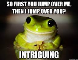 Fascinated Frog memes | quickmeme via Relatably.com