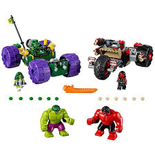 <b>LEGO Marvel Super Heroes</b> Hulk vs. Red Hulk <b>76078 Superhero</b> Toy