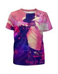 """<b>Детские футболки</b> c стильными принтами """"michael jackson"""" - <b>Printio</b>"""