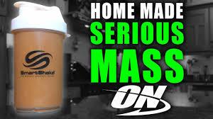 Homemade <b>SERIOUS MASS</b> GAINER SHAKE | <b>High PROTEIN</b> ...