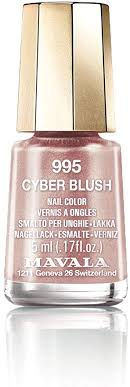 <b>Mavala Cyber Chic</b> 2018 Nail Polish Collection - <b>Cyber</b> Blush (995 ...
