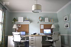 decorationschic modern home office decorationschic modern home office design ideas with rectangle modern grey glass table agreeable double office desk luxury inspirational