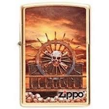 <b>Зажигалка Zippo Skull</b> & Wheel 204 на ZIPPO-RUSSIA.RU