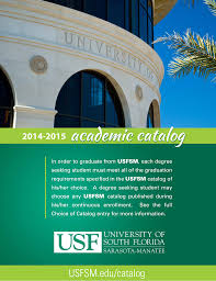 table of contents usf sarasota