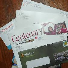 do colleges need to go back to school and learn marketing paul because colleges like to mail stuff to high school students